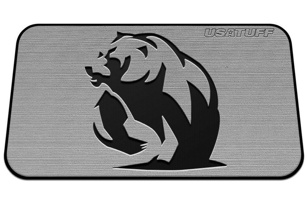 USATuff Cooler Pad for YETI 20qt - SeaDek Marine EVA Mat - G B - Grizzly Bear