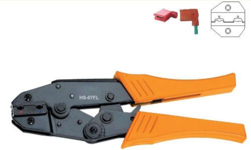 Bandera de tipo F Hembra receptáculo terminal aislado arrugador 0.5-2.5mm2 AWG20-14 X 1