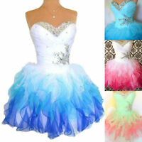 Short Junior Bridesmaid Cocktail Evening Gown Formal Prom Party Homecoming Dress