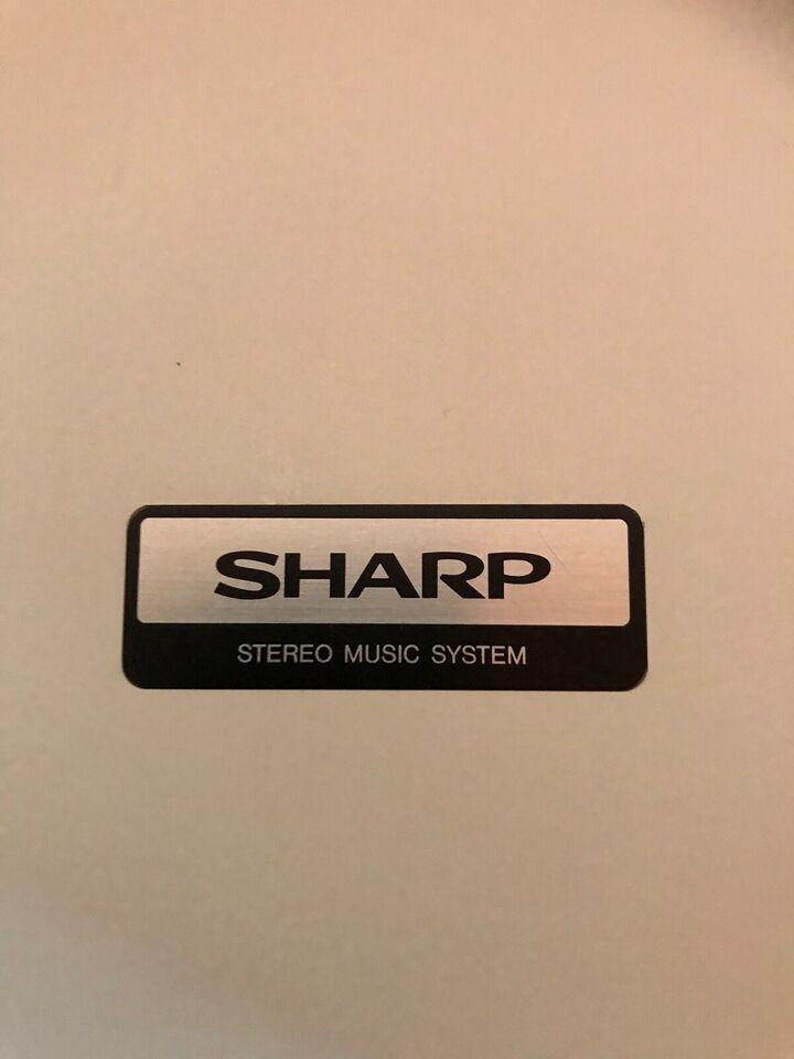Stereoanlæg , Sharp, Stereo Music System CMS-N45