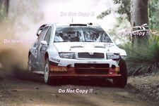 Colin McRae Skoda Fabia WRC Rally Australia 2005 Photograph 1