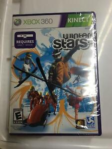 10 x WINTER STARS XBOX 360 KINECT NEW FACTORY SEALED 10 Games