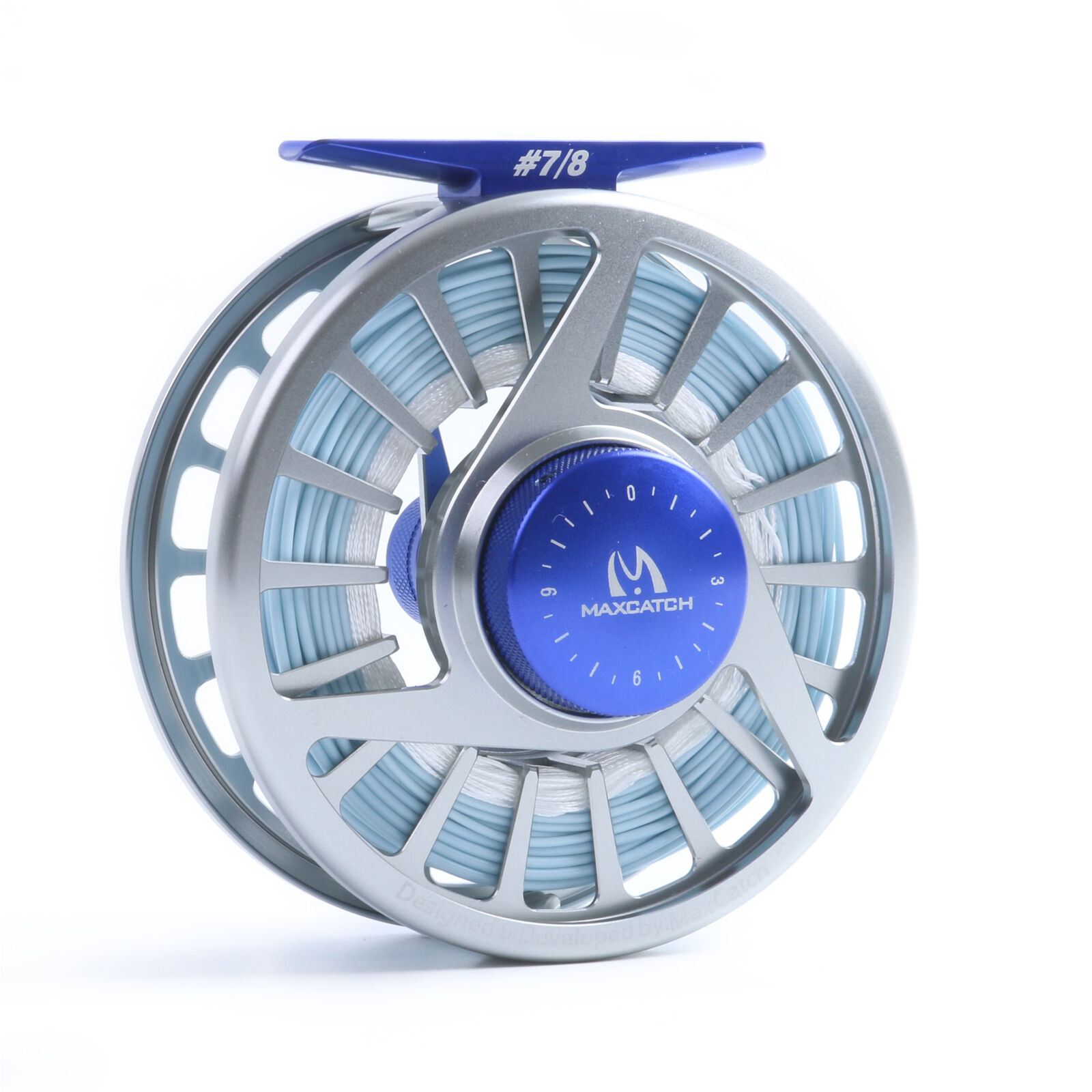 Saltwater Fly Reel with Line 7 8wt Fly Fishing Reel WF8F Sea Fishing Fly Line