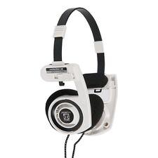 Koss Porta Pro White On Ear Stereo Folding Headphones Portapro 100 % Genuine