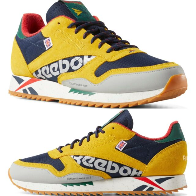 Reebok Classic Leather Ripple Altered Alter the Icon Sneakers Men/'s Comfy Shoes