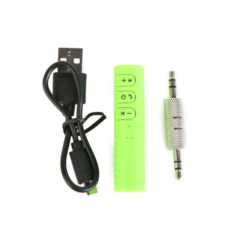 3.5mm Jack AUX Audio Receiver Adapter Mini Wireless Bluetooth Car Kit Hands free