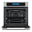 thumbnail 10 - Cosmo Single Electric Wall Oven 24 in. 2.5 cu. ft. Safety Lock Stainless Steel