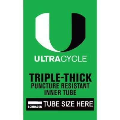 Ultracycle 27.5 x 2.2-2.4 48mm Schrader Valve Thorn Resistant Tube