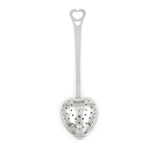 Heart Design Spoon Tea Infuser Filter Souvenir Wedding Party Favor Gift Decor JB