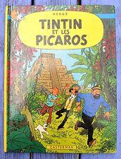 Tintin, Tintin et les Picaros, Hergé, Casterman, édition de 1984,