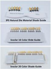 Dental Teeth Shade Guide Ivoclar Vivadent 91620 Colors Porcelain Ips Nature