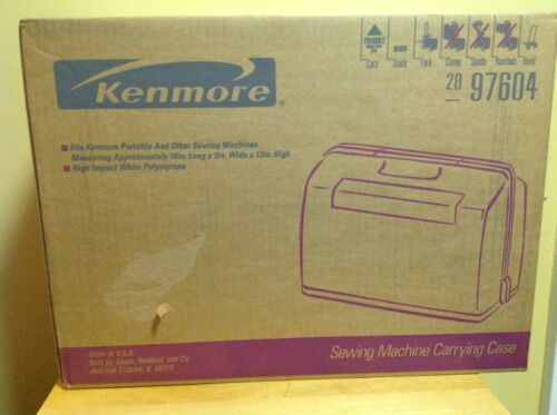 Kenmore Sewing Machine Carrying Case Model 97604 Brand NewSealed