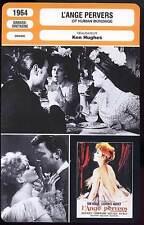 L'ANGE PERVERS - Novak,Harvey,Hathaway (Fiche Cinéma) 1964 - Of Human Bondage