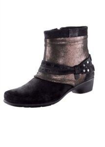Stiefelette Aco Damenschuhe Details Leder Stiefel Gr428 Schuhe Zu 9E2IHWD