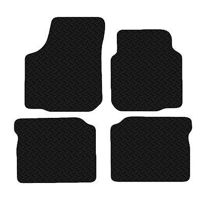 Seat Toledo 2005-2008 Black Tailored Floor Car Mats Carpet //Rubber
