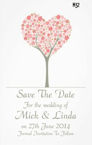Premium Wedding Save The Date Cards Save The Evening Lots Of Choice