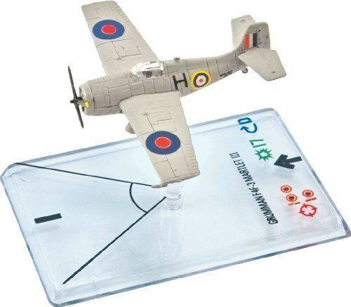 Grummann F4 F-3 Martlet  Nero  - Wings Of War - WW17H