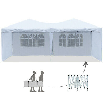 New Pop-Up Canopy Tent With Sidewalls 10'x20' Outdoor Folding Party Gazebo  Tent | eBay