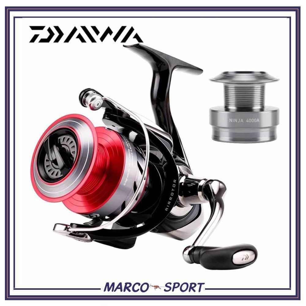 Mulinello da pesca Daiwa Ninja 1000 2000 3000 3000 2000 4000 per spinning bolognese trota b9a2d5