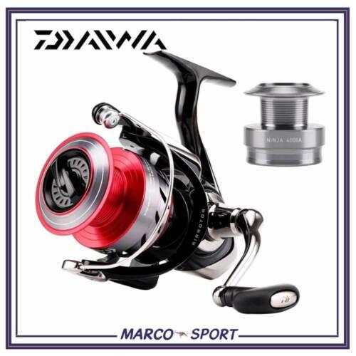 Mulinello da pesca Daiwa Ninja 1000 2000 3000 4000 per spinning bolognese trota