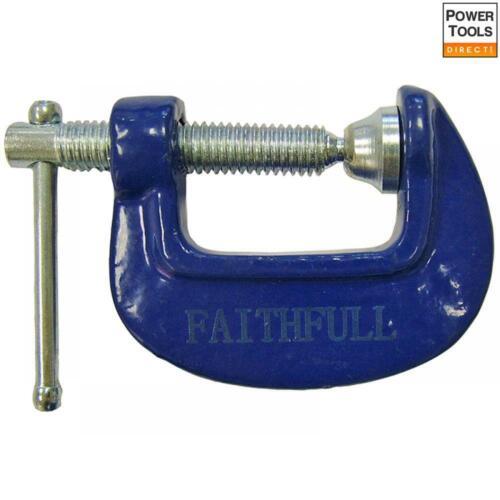 1in Faithfull Hobbyists Clamp 25mm