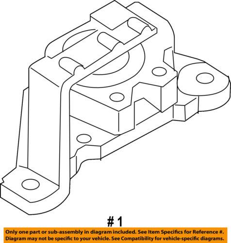 MAZDA OEM 10-13 3-Engine Motor Mount Torque Strut BBN539060