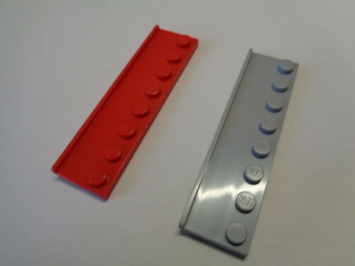LEGO Plaque Raille de Porte 2x8 Plate with Door Rail choose color 30586