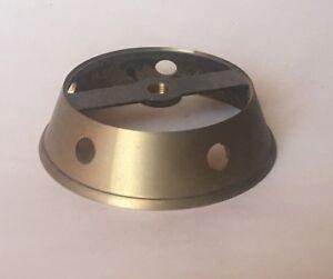 RARE-OLD-STOCK-Italian-Brass-Chandelier-SLANT-Body-ring-w-5-side-hole-lamp-part