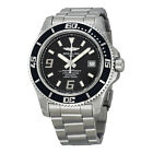 Breitling Superocean 44 Black Dial Stainless Steel Automatic Mens Watch