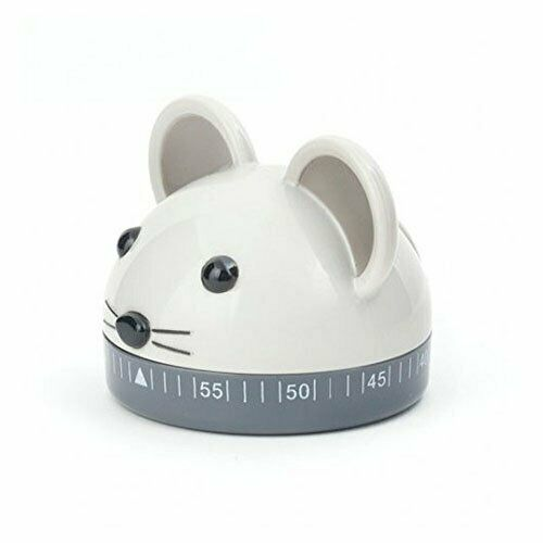 Kikkerland Kitchen Timer Mouse Multicolor