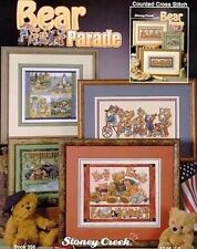 Bear Parade Cross Stitch Chart/Pattern - Stoney Creek Book 356 - 6 Designs