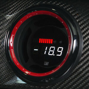 P3-Multi-Gauge-A45-amp-CLA45-AMG-Multi-Function-Digital-Display-with-Red-Blk-Vent