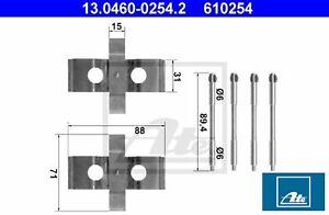 Ate 13.0460-0254.2 Zubehörsatz für Scheibenbremsbelag Zubehörsatz