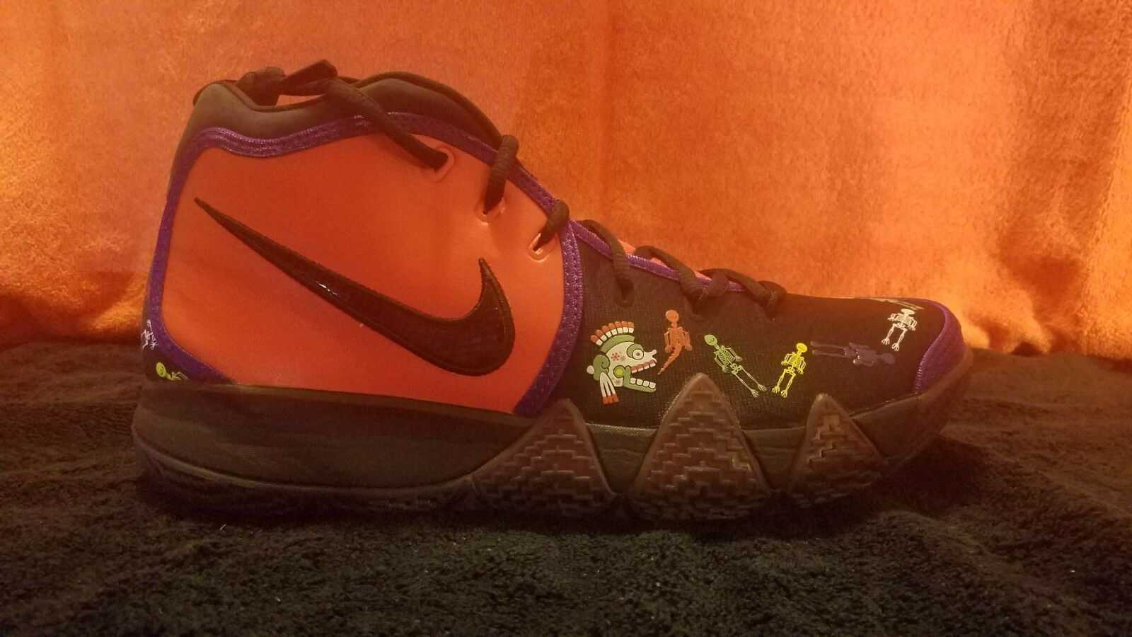 Nike Kyrie 4 Day of the Dead C10278-800 size 11