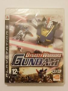 Dynasty-Warriors-GUNDAM-PlayStation-3-ps3-pal-Espana-Nuevo-y-Sellado-de-fabrica