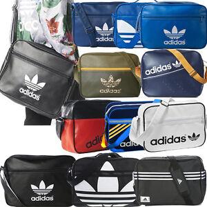 748da7cc9d Image is loading Adidas-Originals-Bags-Mens-Boys-Girls-Adidas-School-