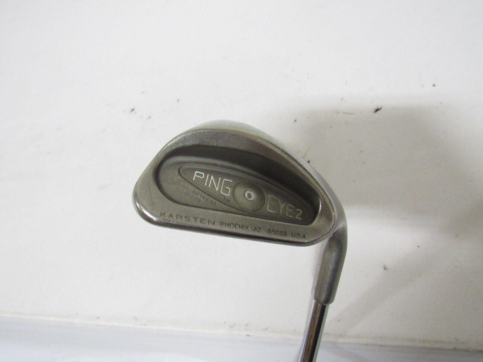 Utiliza la mano derecha Ping Eye 2 Arena  S Cuña Ping EZ Lite Acero rígido de la flexión S-Flex (punto blancoo)  producto de calidad