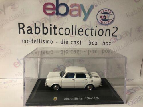 "TECA RIGIDA  BOX 2 SCALA 1//43 DIE CAST /"" ABARTH SIMCA 1150-1963/"""