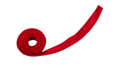 """Satin Piping Binding Tape 1//2/"""" Wide Red 5 Yards"""