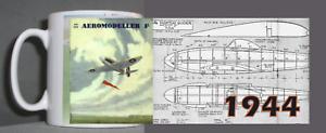 Enthousiaste Vintage Aeromodeller Mug 1944 Design 2019 Nouveau Style De Mode En Ligne
