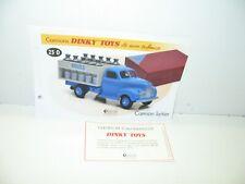 1//43 DINKY TOYS 25 O  Studebaker Milk Truck 4677118  ATLAS ED N