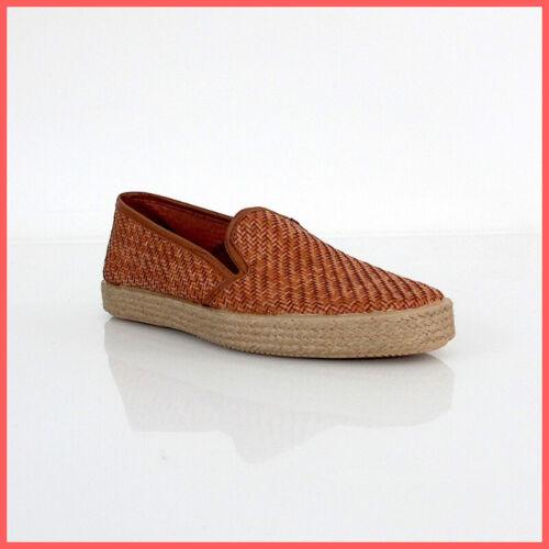 FRAU scarpe slip on uomo 38Z5 69 INTRECCIATO colore CUOIO estate 2019