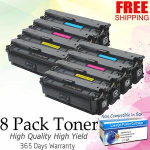 8-High-Yield-Toner-CF360X-for-HP-508A-508X-Color-LaserJet-Enterprise-M553-M553dn