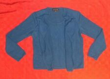 Jones New York Collection Cashmere Fly Away Sweater Top Size M