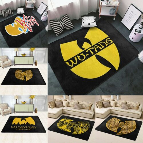 WU-TANG CLAN Rugs Area Rugs Soft Carpet Floor Decor Modern Flannel Large Rugs