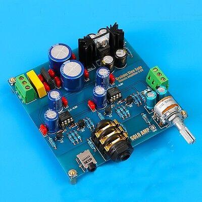 Audio Hifi Headphone Amplify Amplifier Base on SOLO Headphone Amp DIY KITS