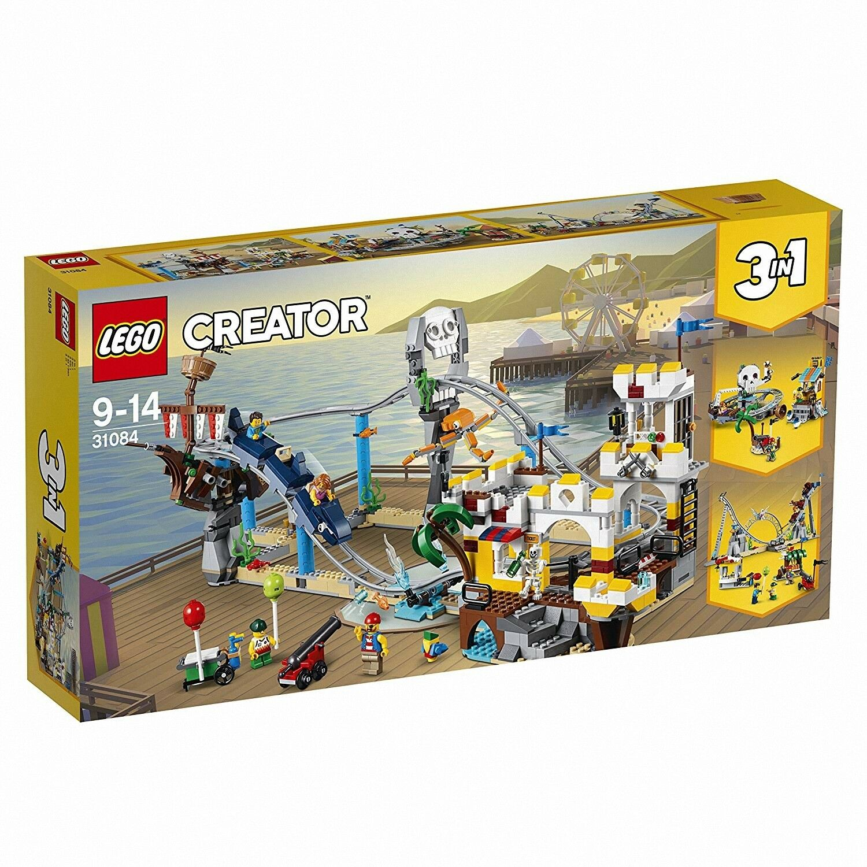 Lego Creator - Montagne Russe dei Pirati, 31084