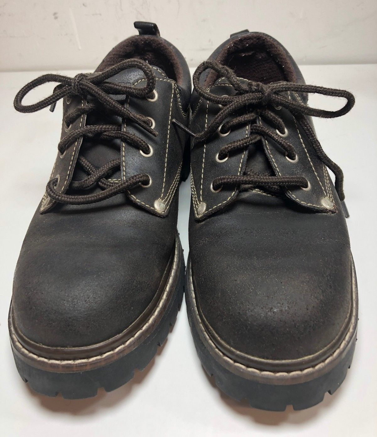 Skechers Womens Oxford Size 9 Deep Brown Style Number 7914