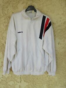 Veste ADIDAS peau de pêche vintage blanc challenger Ventex jacket giacca 180 L