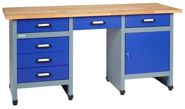 Kupper 12577 Werkbank Ultramarinblau Silber Gunstig Kaufen Ebay